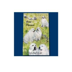 Ruth Maystead Best Friends Rollerball Pen - Great Pyrenees
